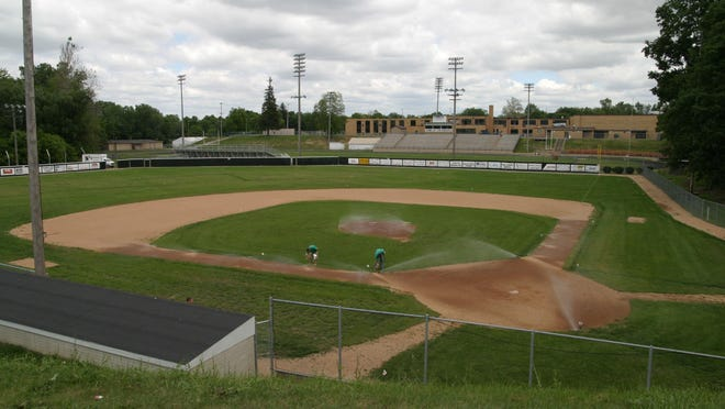 The Tecumseh High School baseball field on North Evans Street is pictured in 2006. A group of alumni from the school's 1981 state tournament runner-up team is asking the Tecumseh school board to name the field for a teammate who died last year.