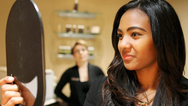 Danielle Hampton takes a look at the work done Bella Kasabova at Z Salon and Spa. Oct. 24, 2014 By Matt Stone/C-J