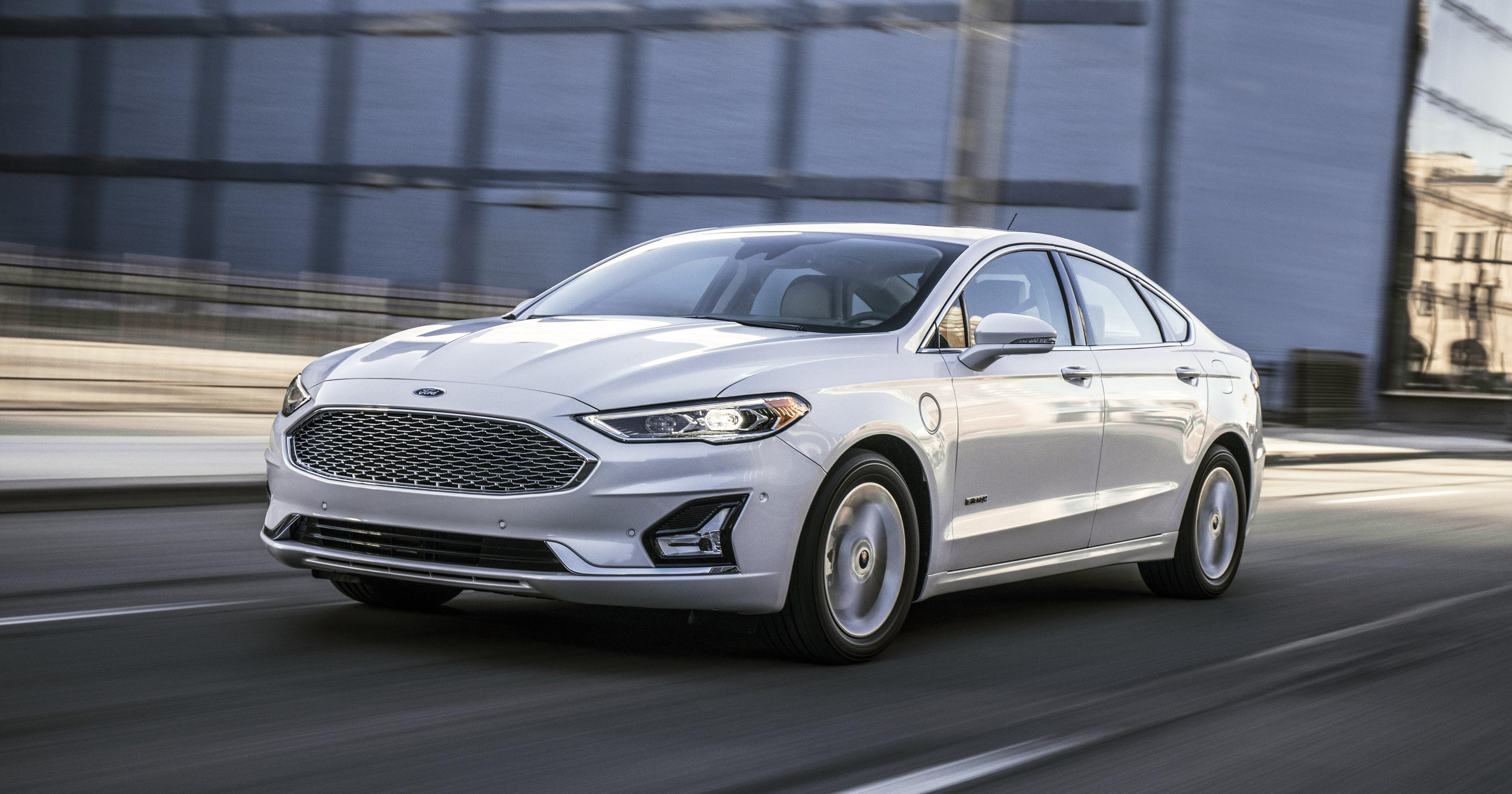 2019 Ford Fusion Adds Technology Trim Options