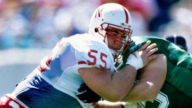 Christian Peter won back-to-back national championships with Nebraska in 1994-95.