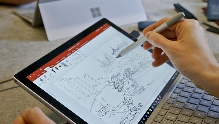 Microsoft's new Surface Pro laptop-tablet hybrid in