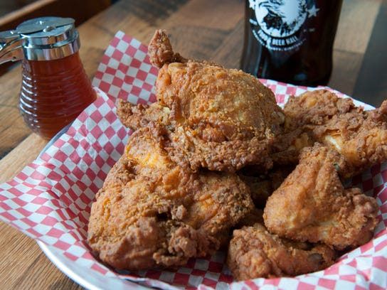 Eagle fried chicken