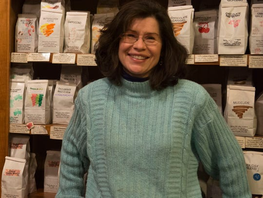 Amy Felker owns Notting Hill Coffee in downtown Lewes.