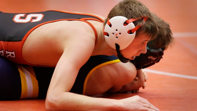 Sheboygan South's Trey Klessig is one of 43 sectional qualifiers from Sheboygan County.