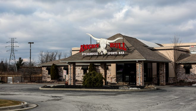 The owner of the former Angry Bull Steakhouse and Sports Bar, 5078 Lapeer Road in Kimball Township, is looking for a new tenant.