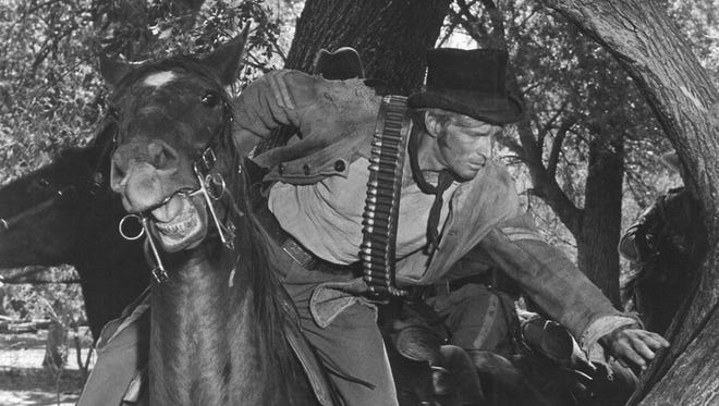 """Stuntman-actor Dean Smith appears in """"Rio Lobo,"""" this weekend's classic movie at the Paramount Theatre."""