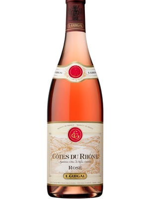 Guigal's Cotes du Rhone Rose is proudced by a 70-year-old family winery in France.