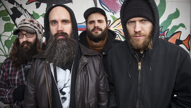 Child Bite, from left: Sean Clancy, Shawn Knight, Jeff Klaus and Brandon Sczomak. Guitarist Brett Siler, a new member, is not pictured.