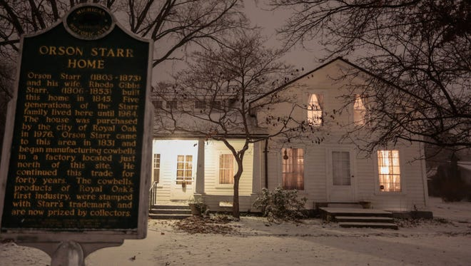 For each tour ticket, Royal Oak is to get $20 for history programs; $5 will go to a Warren-based group of ghost-hunting hobbyists, who say the Orson Starr House, built in 1845 by a farmer and cowbell maker, is still inhabited by some form of Starr — and his dog.