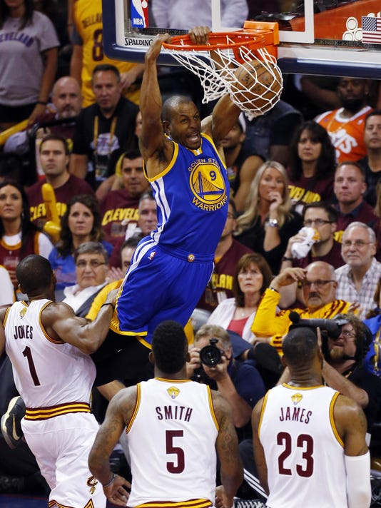 James Jones, Andre Iguodala