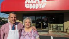 Ham 'N Goodys owner Dale Harold and his mom, Nancy