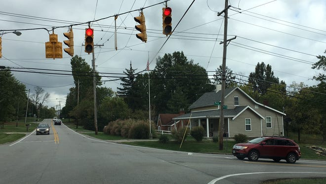 A permanent traffic signal has been installed at the intersection of West Fork and Race roads in Green Township.