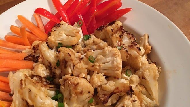 This cauliflower tastes sinful without the sinful calories or unhealthy ingredients.