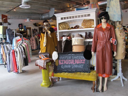 Antique Sugar is a vintage shop in a renovated 1950's