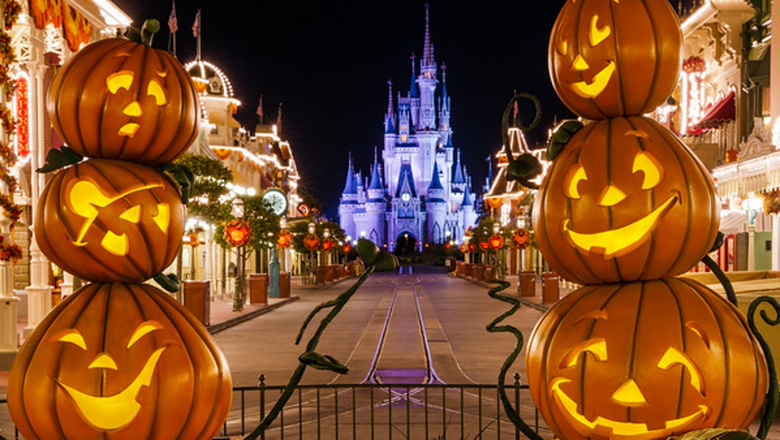mickey halloween party map disneyland
