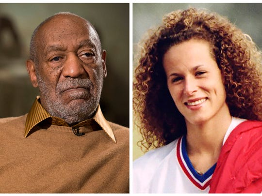 Bill Cosby Nov. 6, 2014. Andrea Constand on Aug. 1,