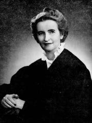 Burnita Shelton Matthews was the first woman appointed