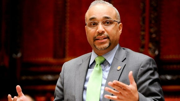 Sen. Jose Peralta, D-Queens, announced Wednesday, Jan. 25, he will leave the Senate Democratic Conference and join the Independent Democratic Conference.