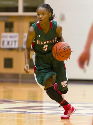 FILE -- Former Lawrence North High School basketball player Jordan Hankins was found dead in her Northwestern dorm room on Monday.