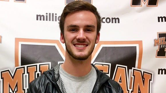 Franklin senior Kyle Knop has committed to play college soccer for Milligan (Tenn.).
