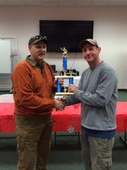 Clay Simon won first place in the Tactical Shooting Competition.