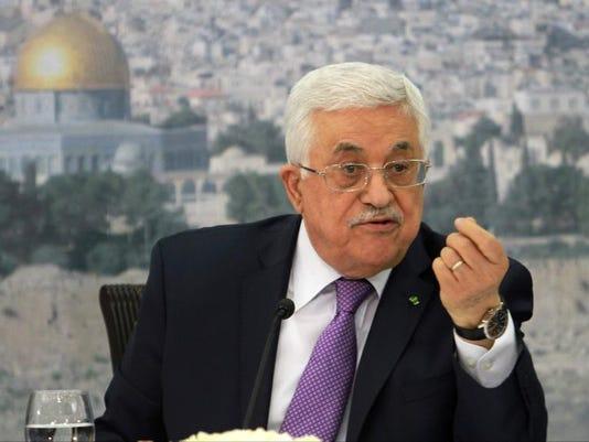 Mideast Israel Palestinians (3)