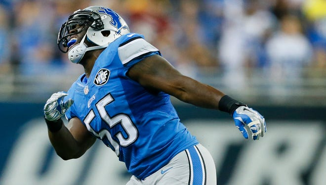 Lions LB Stephen Tulloch is about to miss the first games of his NFL career.