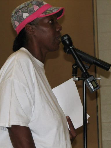 """It's hurting me,"" said Janice Jackson, a Shreveport resident who lives near the Russell Road landfill operated by Harrelson Materials Management. She was among several residents from neighborhoods near the facility to question state officials Thursday night at a community meeting about any hazards the facility might pose for residents. The event was hosted by  state Sen. Greg Tarver at Southern University at Shreveport and included representatives from the Louisiana Department of Environmental Quality, the Louisiana State Fire Marshal's Office and the Louisiana Deparment of Health and Hospitals Safe Drinking Water Program."