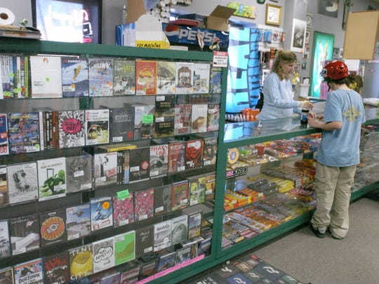 Videos, clothing and other retail, seen in 2005, is