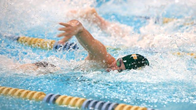 Asheville Trailblazers swimmer Grace Reeder.