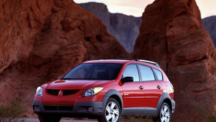 GM added 9,900 of its Toyota-made, 2003 and 2005 Pontiac