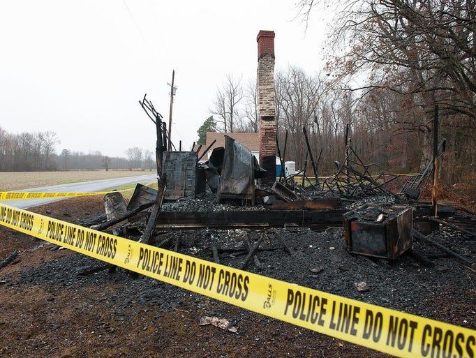 Church Arson at Healing Hands Church in Felton DE