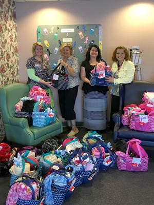 Velvet's Totes for Hope's York chapter was established in 2015. Locally, the nonprofit has delivered approximately 75 totes to local cancer patients and medical offices.