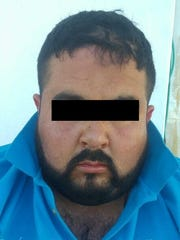 """Gilberto V.R., 33, alias """"El Chacho,"""" is suspected of being the main drug distributor in Chihuahua City."""