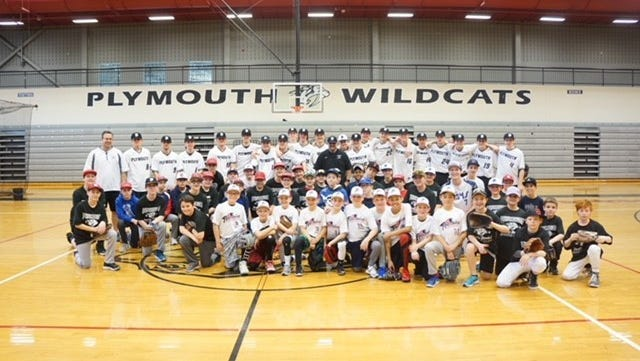 The Plymouth Wildcat Baseball Clinic March 17 was a hit both for the varsity baseball team and area youth players.