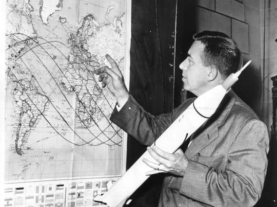 Hansen mentor James Van Allen.