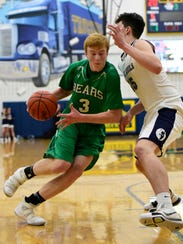 Margaretta's Mitch Raifsnider scored nine points Saturday.
