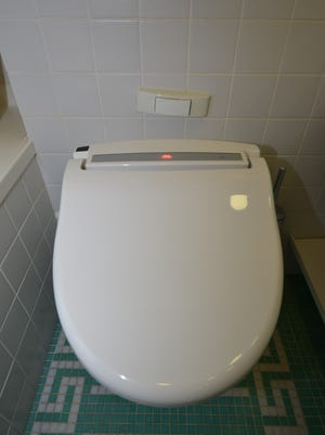 Princess Cruises added high-tech, Japanese-style toilets to some cabins on the  Diamond Princess during an overhaul in early 2014.