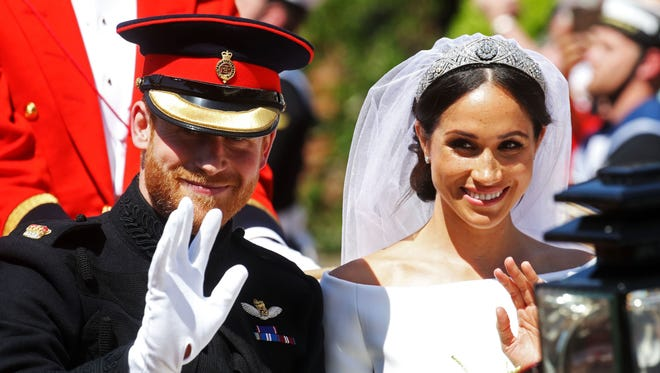 Harry and Meghan will be known as the Duke and Duchess of Sussex.
