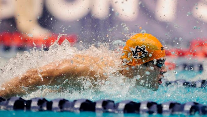Marcelo Chierighini, a former All-American swimmer at Auburn, will be representing his home country in two weeks at the 2016 Rio Olympic Games.