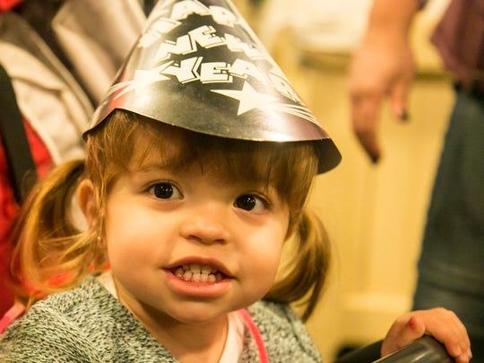 #NYEyork Children's Countdown celebration Saturday,