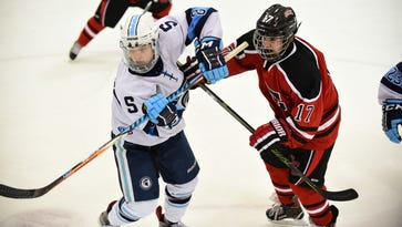 City rivalry hockey matchup goes to Spartans, 3-1