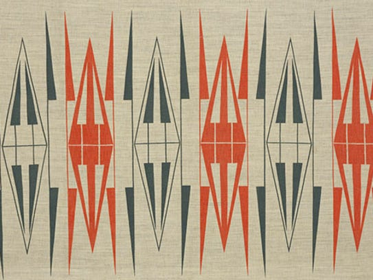 "Ruth Adler Schnee, ""Backgammon."" designed 1950-51."