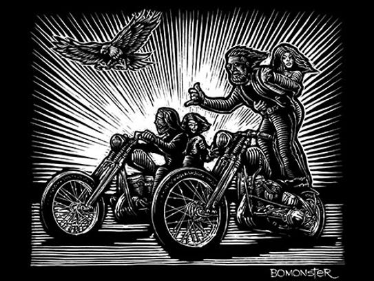 """BOMONSTER's tribute piece to David Mann's """"Show Off."""""""