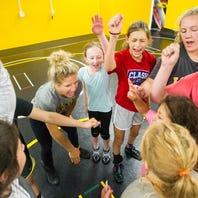15 photos: Iowa holds first women's wrestling camp