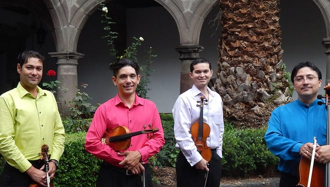 The Latin string quartet, La Catrina, is set to perform at 7 p.m. on Tuesday, March 21, at Light Hall Theater on the campus of Western New Mexico University in Silver City.