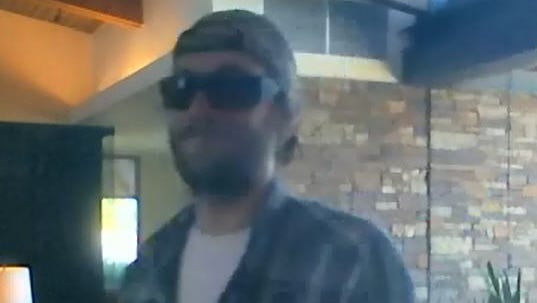 The FBI released security-camera footage of a Glendale bank-robbery suspect.
