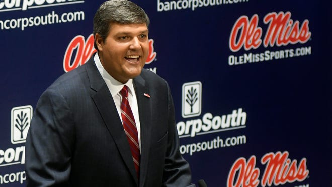 Matt Luke described Ole Miss as his dream job and said he's been preparing his whole life for this opportunity.
