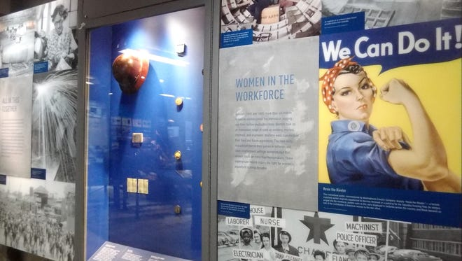 Women in the workforce and, of course, Rosie the Riveter.