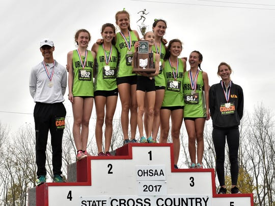 Ursuline Academy took the Runners-Up team trophy home
